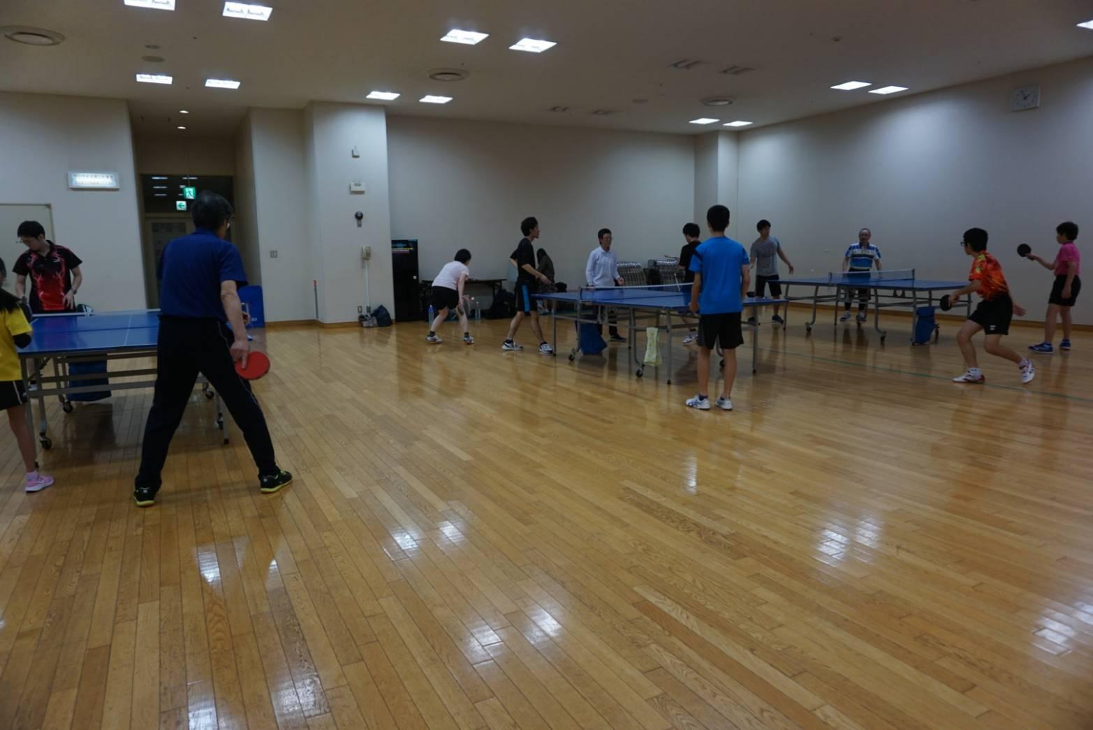 卓球 練習